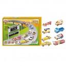 Legler 3D puzzle autá - 8 ks