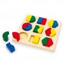 Legler puzzle na doske Farby a tvary