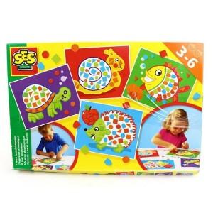 SES Creative Veľká sada učím sa mozaiky