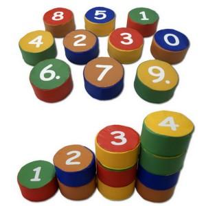 Molitanové stolčeky Matematika, 10 ks