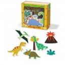 Edukačné magnetky Dinosaury, 20 ks