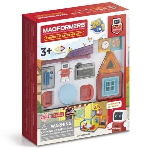 Magformers MINI Robot v kuchyni