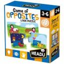 Headu Puzzle pre najmenších Protiklady, 32 kartičiek