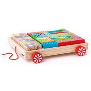 Woody Vozík s kockami, 35 dielikov