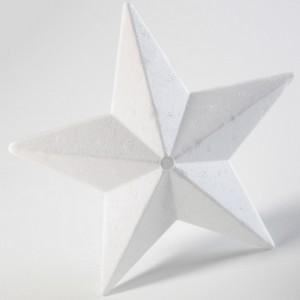 Polystyrénové hviezdy, 9 cm, 10 ks