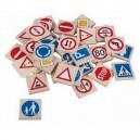 Pexeso Dopravné značky, 36 kariet
