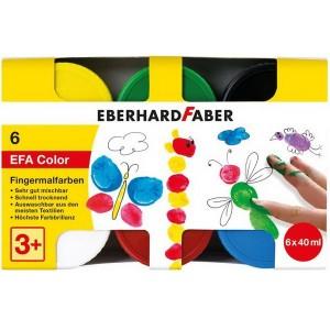 Prstové farby 6 x 40 ml