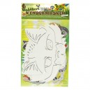Papierové masky Lesné zvieratá, 6 ks