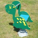 Pružinovka Dino s lavičkou HDPE Super