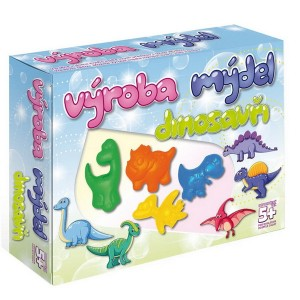 Výroba mydla - Dinosaury