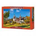 Castorland Puzzle Hrad Peles - Rumunsko, 500 dielikov