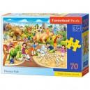 Castorland Puzzle Dinosaurí park, 70 dielikov