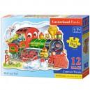 Castorland Puzzle Lokomotíva, 12 dielikov