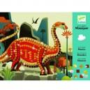 Djeco Penová mozaika – Dinosaury