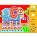 Djeco penová mozaika, Slon a slimák