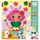 Djeco Maľovanie s vodovými farbami - Sladké pochúťky