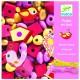 Djeco Drevené korálky - Vtáčiky