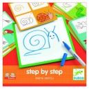 Djeco Kreslenie krok za krokom, Zvieratá