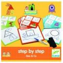 Djeco Kreslenie krok za krokom, Geometrické tvary