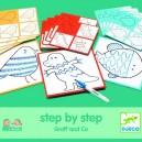 Djeco Kreslenie krok za krokom, Graff and Co