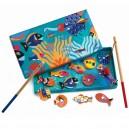 Djeco Chytanie magnetickou udicou - Žiarivé rybky