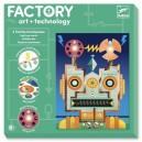 Djeco Factory Svietiace obrázky Kyborg