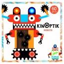 Kinoptik Roboti - Objav optický klam