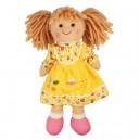 Bigjigs Toys Látková bábika Daisy, 28 cm