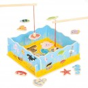 Bigjigs Toys Magnetické chytanie rybičiek