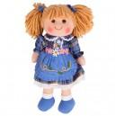 Bigjigs Toys Látková bábika Katie, 34 cm