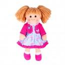 Bigjigs Toys Látková bábika Maggie, 34 cm