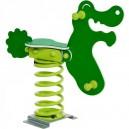 Pružinová hojdačka Krokodíl HDPE Klasik