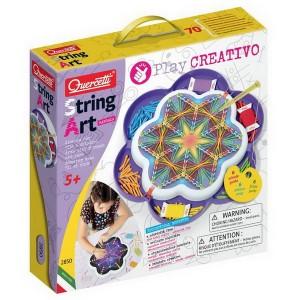 Quercetti Play Creativo String Art Mandala